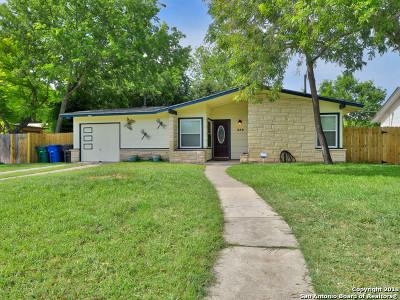 San Antonio Single Family Home New: 339 Artemis Dr