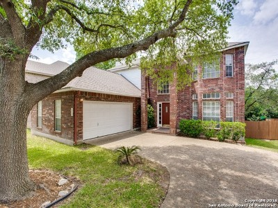 San Antonio Single Family Home For Sale: 18135 Summer Knoll Dr