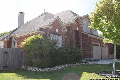San Antonio Single Family Home New: 1326 Adobe Run