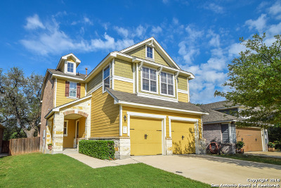 Boerne Single Family Home Back on Market: 108 Horse Hill