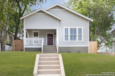 San Antonio Single Family Home New: 924 Dawson St