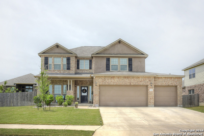 Cibolo Single Family Home For Sale: 521 Saddle Vis