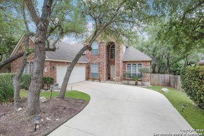 Schertz Single Family Home Price Change: 3920 Arroyo Seco