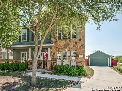 Cibolo Single Family Home Back on Market: 129 Saddle Trail