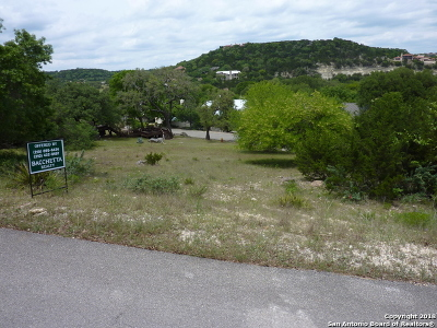 Boerne Residential Lots & Land For Sale: 00 Tapatio West Dr