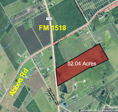 Residential Lots & Land For Sale: 4282 E Fm 1518
