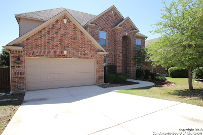 Cibolo Canyons Single Family Home For Sale: 23403 Treemont Park