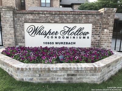 San Antonio Condo/Townhouse Back on Market: 10955 Wurzbach Rd #604
