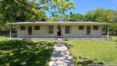 San Marcos Single Family Home For Sale: 312 Yale St