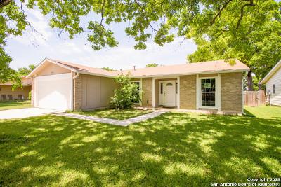 San Antonio Single Family Home Price Change: 4619 Harpers Bend