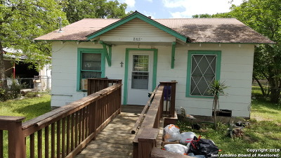 New Braunfels Single Family Home For Sale: 262 Washington Ave