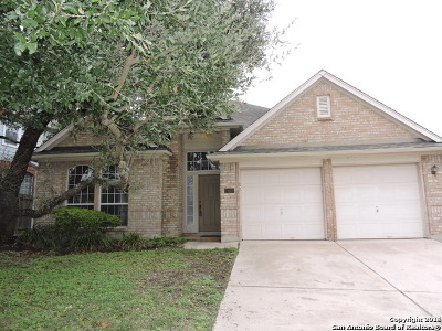 San Antonio Single Family Home For Sale: 24934 Crescent Trace