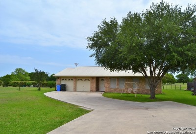 Guadalupe County Single Family Home Price Change: 505 River Oak Dr