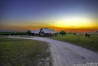 Guadalupe County Single Family Home Price Change: 900 Union Wine Rd