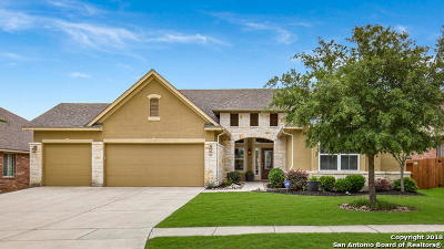 Cibolo Single Family Home Active RFR: 125 Spyglass Cove