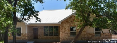 Bandera County Single Family Home For Sale: 183 Sunrise Ln