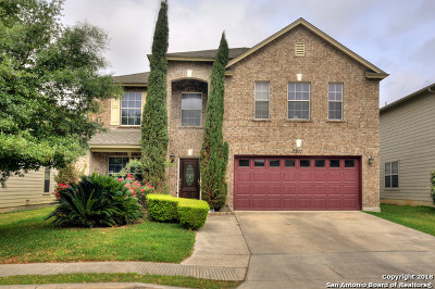 Boerne Single Family Home Back on Market: 7511 Gramercy Crest