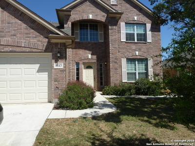 Helotes Single Family Home For Sale: 8843 Brocken Forest