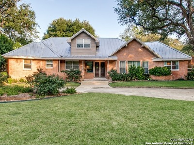 San Antonio Single Family Home For Sale: 310 Wyndale St