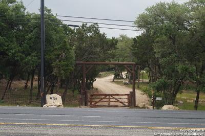 Helotes Farm & Ranch Back on Market: 18735 Bandera Rd
