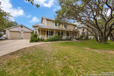 Boerne Single Family Home For Sale: 9617 Autumn Sound