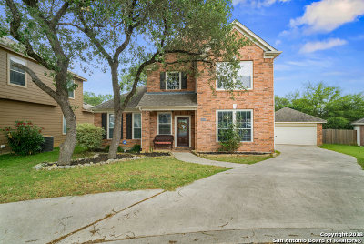 San Antonio Single Family Home Price Change: 26806 Spiral Canyon