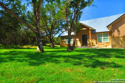 Bandera County Single Family Home Back on Market: 920 Heinen Rd