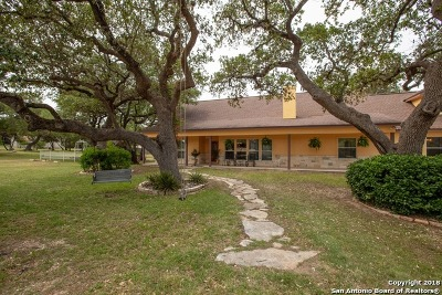 Spring Branch Single Family Home For Sale: 1063 Fairway Dr