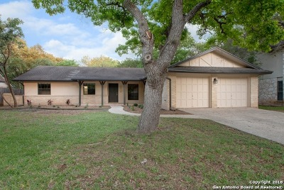 San Antonio TX Single Family Home Back on Market: $289,900
