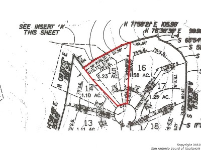 Boerne Residential Lots & Land For Sale: 76 Winged Foot