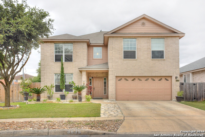 Helotes Single Family Home Price Change: 8635 Auberry Path