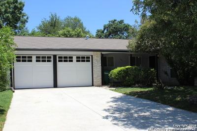 San Antonio Single Family Home Back on Market: 507 Bertetti Dr