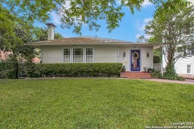 San Antonio Single Family Home Back on Market: 315 W Agarita Ave