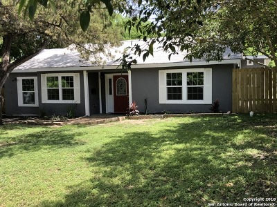 New Braunfels Single Family Home For Sale: 345 W Nacogdoches St