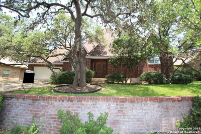 San Antonio TX Single Family Home For Sale: $450,000