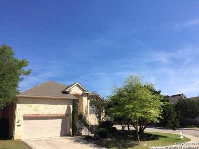 Cibolo Canyons Single Family Home Back on Market: 24059 Waterhole Ln
