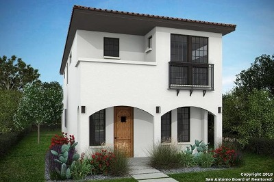 San Antonio Single Family Home Price Change: 444 E Olmos Dr
