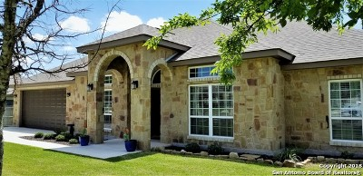 New Braunfels Single Family Home For Sale: 126 River Park Dr