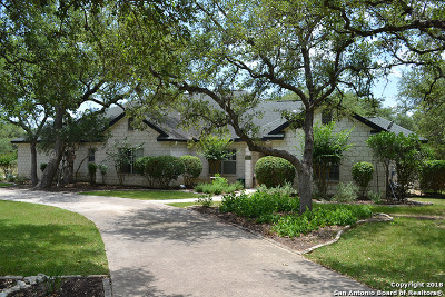 San Antonio Single Family Home Price Change: 23415 Osceola Blf