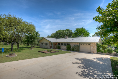 Canyon Lake Single Family Home Back on Market: 148 Canteen