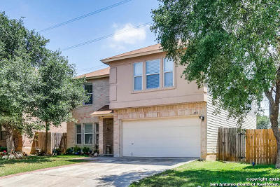 San Antonio Single Family Home Back on Market: 418 Bluegrass Creek