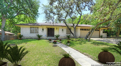 San Antonio Single Family Home Price Change: 8506 Rockmoor Dr