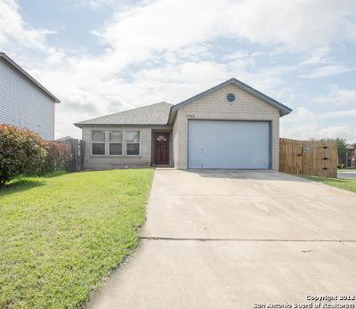 Converse Single Family Home Back on Market: 8902 Walnut Basin