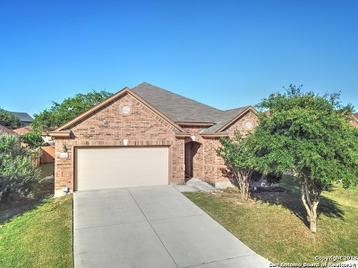 San Antonio Single Family Home For Sale: 20718 Coral Spur