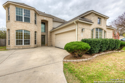 Helotes Single Family Home For Sale: 10602 Canyon River