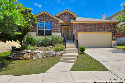 San Antonio Single Family Home Price Change: 25618 Bottle Brush