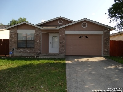 Converse Single Family Home For Sale: 6818 Rebel Grove Dr
