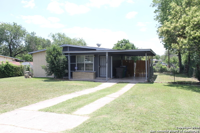 San Antonio TX Single Family Home For Sale: $118,500