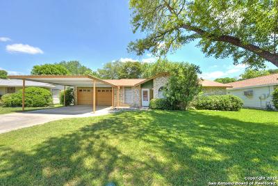 San Antonio Single Family Home New: 4111 Barrington St