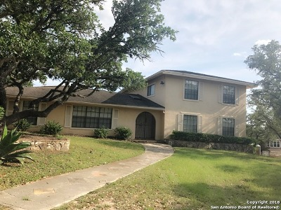 Helotes Single Family Home Price Change: 18561 Bandera Rd